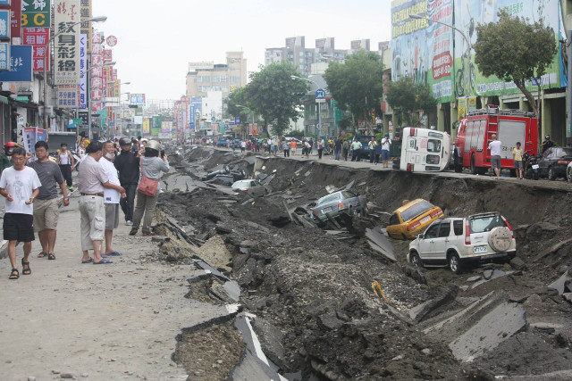 Kaohsiung Explosion (Yixin Rd.)