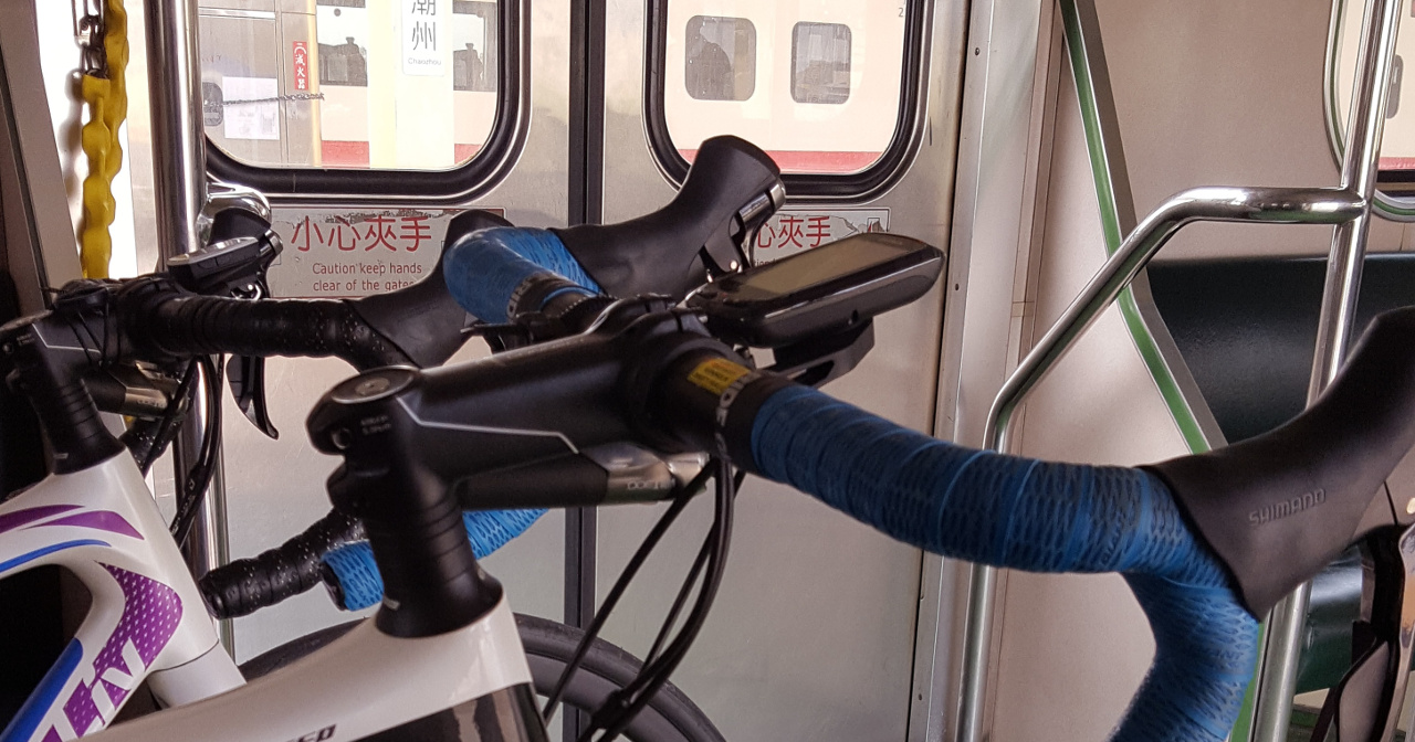 Taking Bicycles on Trains in Taiwan