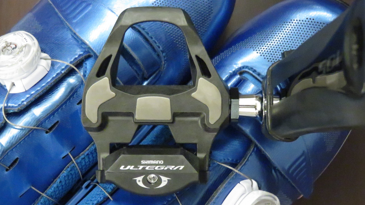 Shimano Ultegra SPD-SL Pedals and GIANT Surge Road Shoes